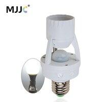 Bewegungssensor Lichtsteuerung Timer Schalter 110 V 220 V E27 Lampenhalter IR Infrarot Menschlichen Induktions Motion Sensor buchse