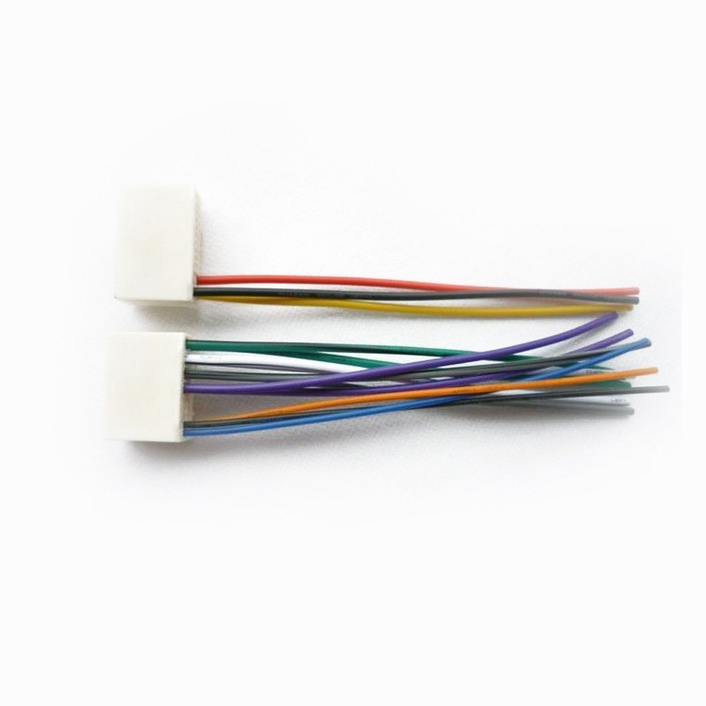 hight resolution of moonet car stereo cd player wire harness aftermarket radio connect wiring fit hyundai ix35 ix45 kia k2 k5 sportage qx128 in car mp3 players from