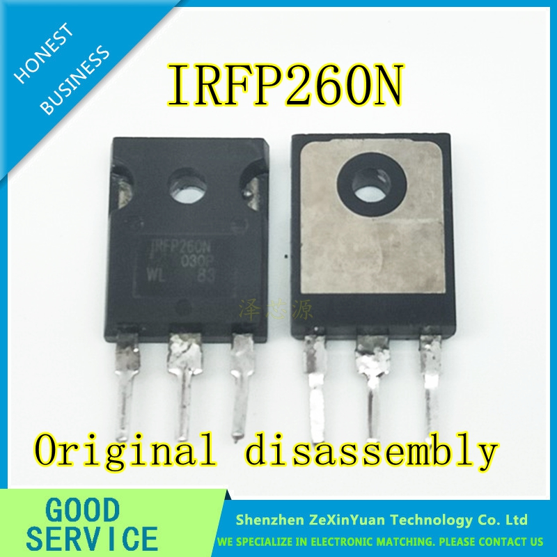 20PCS/LOT IRFP260NPBF IRFP260N TO-247  50A 200V Original Disassembly  Not Made In China