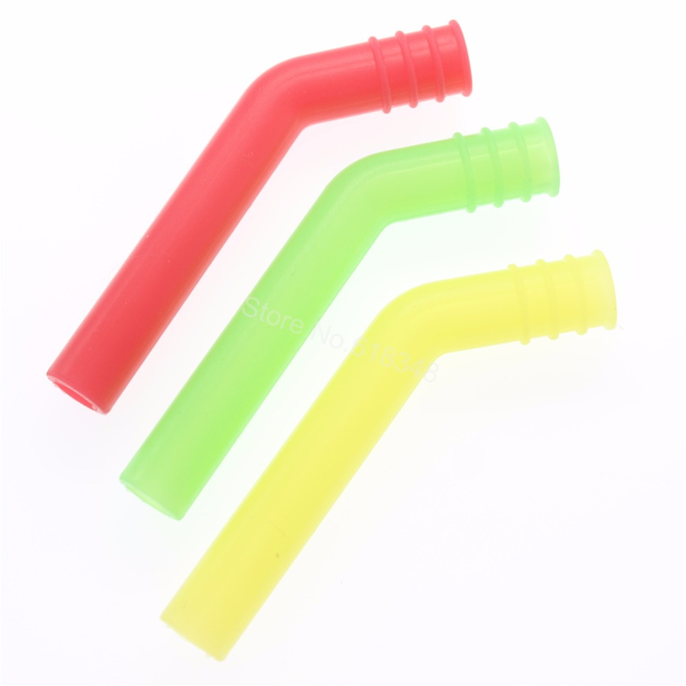 10PCS RC Exhaust Extension Tube Silicone For 1/8 1:10 Scale RC Nitro Power Car Models Buggy Truggy HSP 85789 Exhaust Pipe