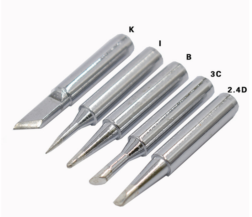 DGKS Soldering Station Conical Bevel 60W Solder Iron Tip 5pcs Electric Soldering Irons