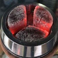 Cocoblade węgiel z łupin orzecha kokosowego dla shisha hookah sheesha 48 sztuk 0.58 kg na węgiel uchwyt kelaoke miska węgiel węgla grzejnik