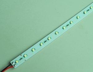 non-waterproof 3528 SMD LED Rigid strip light;30pcs led;0.5m long;red color