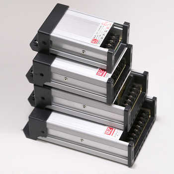 Trasformatore 220V 230V 240V a cc 12V LED alimentatore esterno antipioggia 100W 200W 300W 400W trasformatori per illuminazione Driver LED