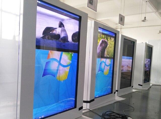 Большие размеры 32 42, 47 (Европа) 55 65 85 дюймов сенсорный экран прозрачный ЖК экран, рекламный дисплей для торгового центра