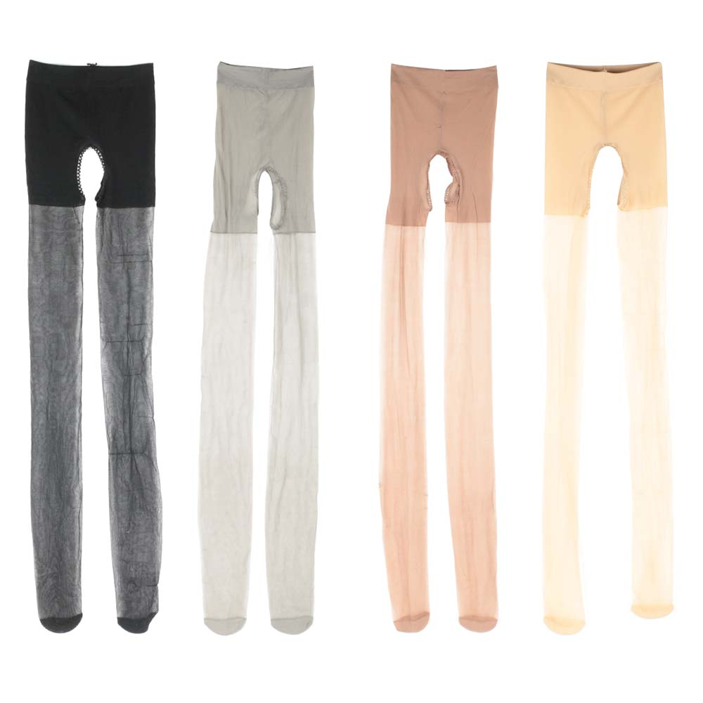 New Sexy Women Girl's Stockings Double Sides Open Ultra-thin Stockings Soft Transparent 2019 Hot Sale