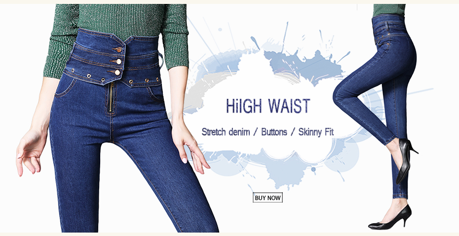 Jeans Guuzyuviz Vintage Casual Autumn Winter Jeans Woman High Waist Patch Work Cotton Washed Denim Pants Mujer Wide Leg Trousers Durable Service