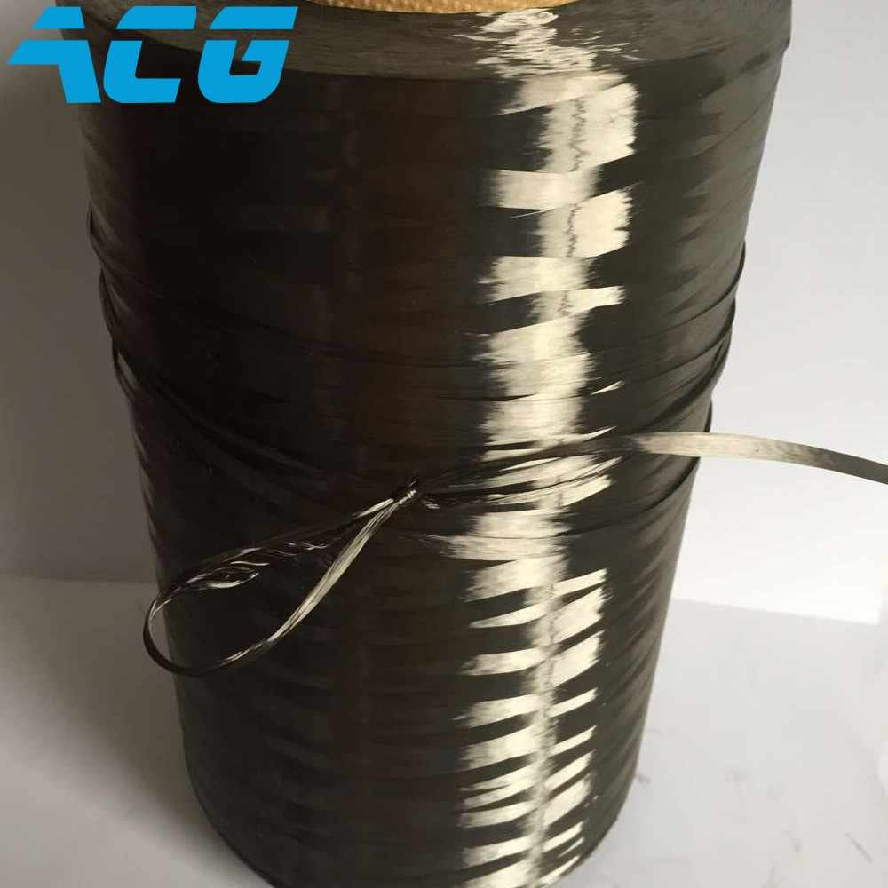 High Modulus 48k Carbon Fiber Roving Yarn Filament Conductive Heating Filament 4900Mpa Made In Japan