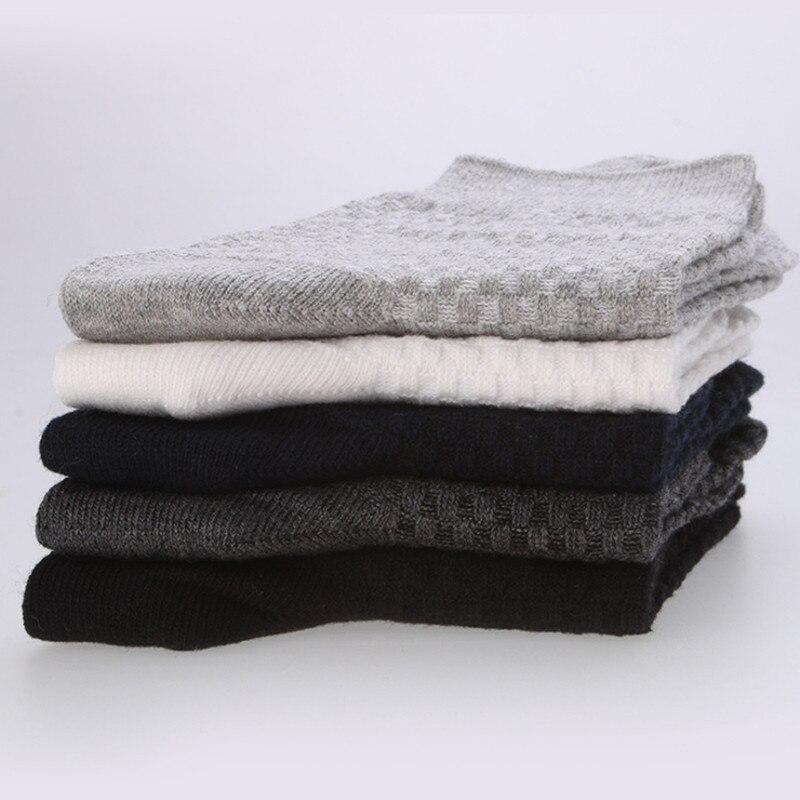 Men Cotton Socks Brand New Casual Business Anti-Bacterial Deodorant Breatheable Man Long Socks 10pairs / lot