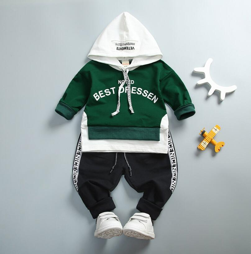 new children clothing baby boy spring autumn long sleeves clothing set t-shirt+pants 2 pcs for 0-3 years old baby boy clothes 2017 new cartoon pants brand baby cotton embroider pants baby trousers kid wear baby fashion models spring and autumn 0 4 years