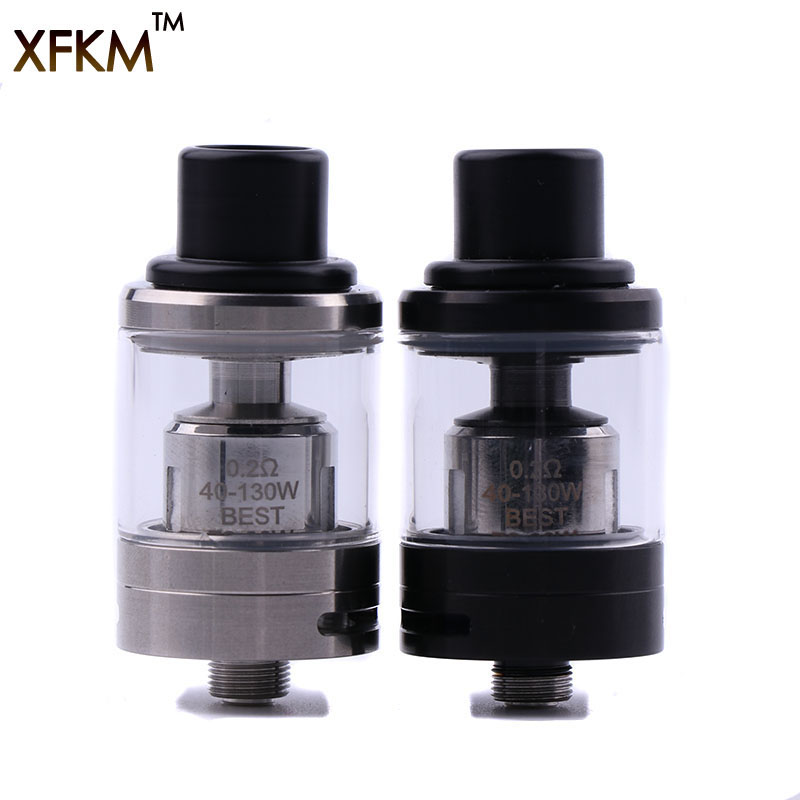 XFKM NEW Subohm V Tank Atomizer 2.0ML 510 Thread 0.2ohm T6 Coil Atomizer Tank With VS V8 Baby V12 Top Refill 22mm