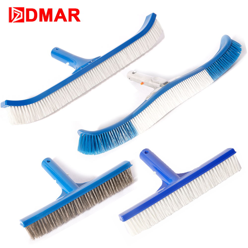 DMAR Swimming Pool PVC Steel Brush Head 10 18 Pool Spa Home Cleaner Tools Equipment Accessories