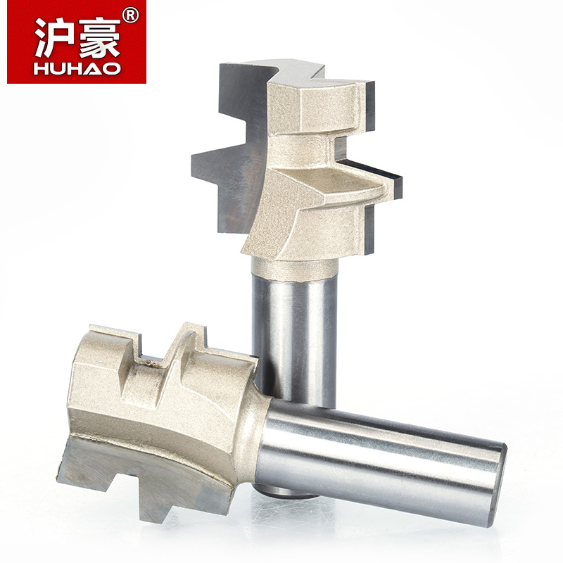 HUHAO 1pc 1/2 Shank Router Bits For Wood Woodworking Tool Wood Tenon Cutter Combination CNC Cutter 1pc 1 2 7 8 woodworking cutter cnc engraving tools cutting the wood router bits 1 2 shk