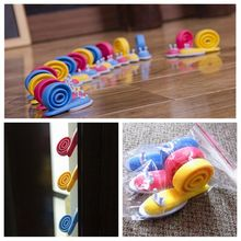 3pcs/lot Cute Snails Door Jammer Finger Corner Guard Baby Safety Door Stopper Protecting Children Safe kids door fangga pad(China)