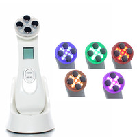 LED Photon Skin Rejuvenation EMS Mesotherapy Electroporation Facial RF Radio Frequency Skin Care Beauty Device Tighten