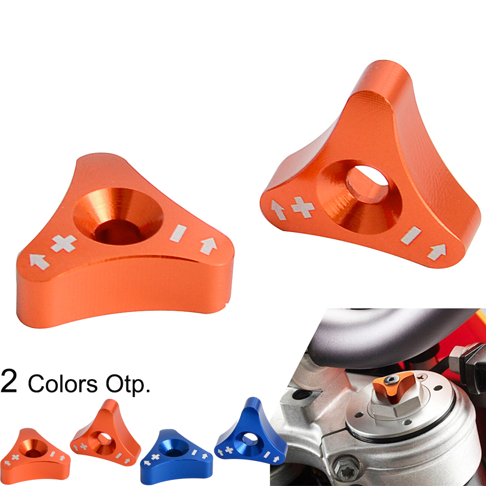 48mm Front Shock Absorber Fork Knob Adjuster Bolt For KTM SX SXF EXC XCW 125 150 <font><b>250</b></font> 350 450 530 690 Duke <font><b>Enduro</b></font> SMC Supermoto R image