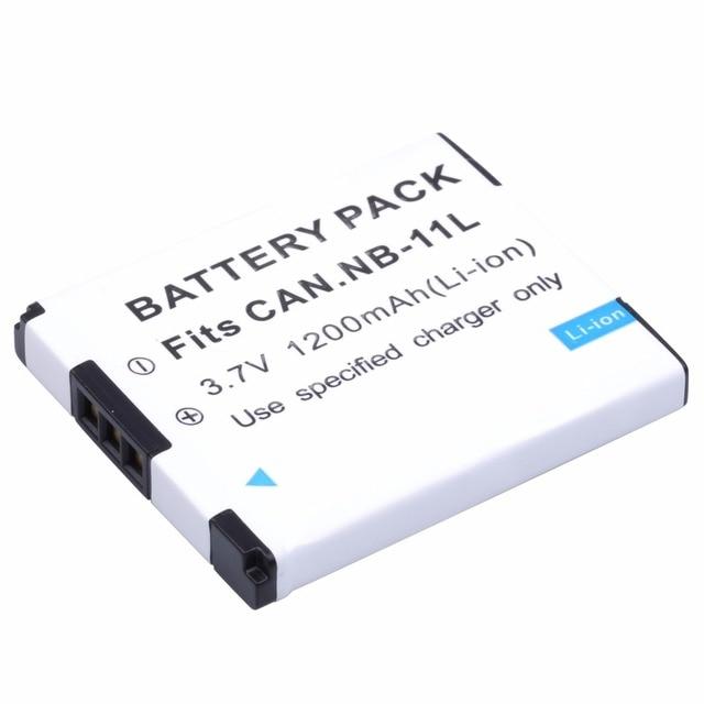 Provável 1200 mAh Bateria para Canon PowerShot NB-11LH NB-11L A2400 A2500 A2600 A3400 A3500 A4000 É ELPH 320 340 350 IXUS 265 HS