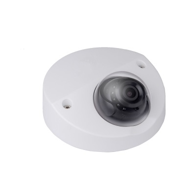 New arrival 2MP Starlight IR Mini Dome Network camera IPC HDBW4231F AS free DHL shipping