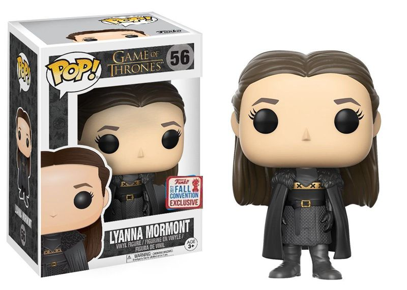 2017 NYCC Exclusive Funko pop Official Game of Thrones - Lyanna Mormont Vinyl Action Figure Collectible Model Toy In Stock hannibal funko figure will graham funko pop vinyl figures funko 3 75 vinyl figures hannibal pop funko doll toy