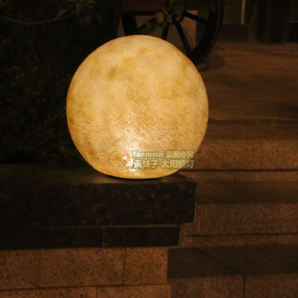 Great Ball Lights Can Simulate Resin Garden Decoration D Round Stone Classy Stone Ball Garden Decoration