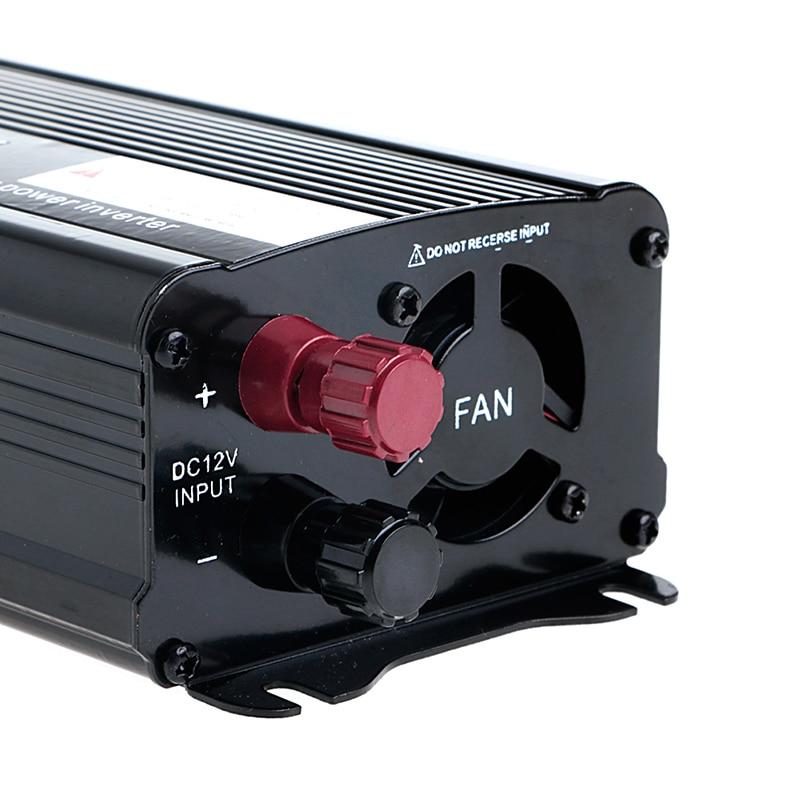 все цены на Solar Continuous Inverter 1000W 12V DC To 230V AC Modified Sine Wave Converter онлайн