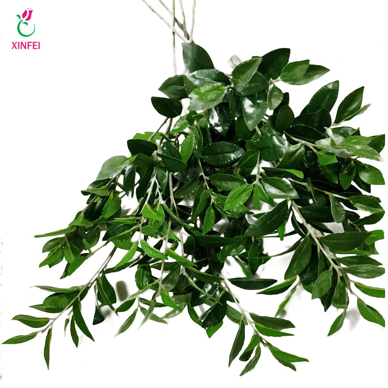 ᑐXINFEI Plantes Artificielles Vert Herbe En Plastique Fleurs Jardin ...