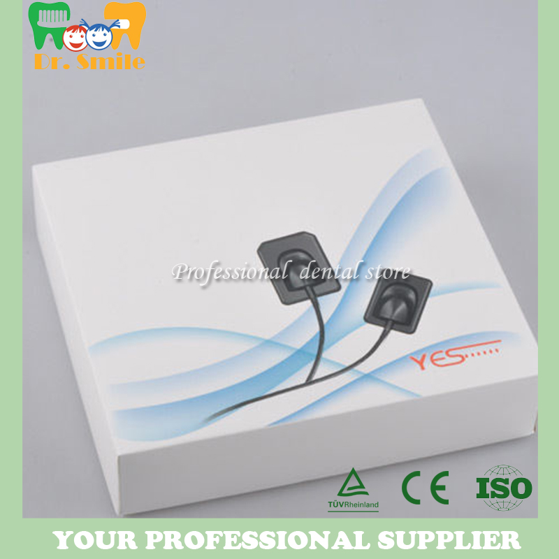 Free shipping 2017 new Korea brand Yes dental digital x ray sensor high quality sensor 100 pcs dental x ray film size 30 x 40mm for dental x ray reader scanner machine