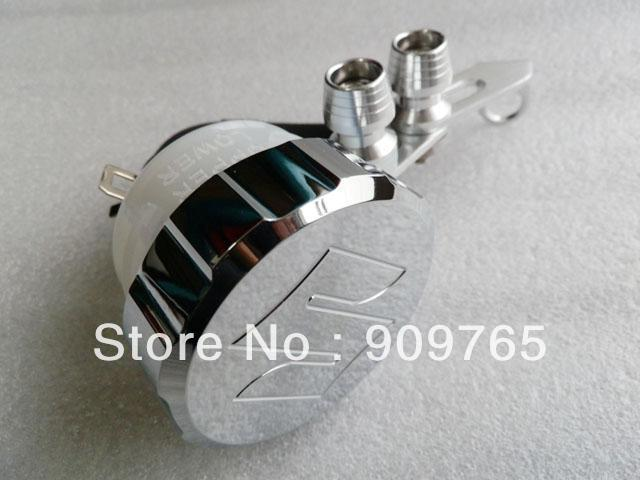 цены  Free Shipping CHROME Front Brake Fluid Cap w/ Tank For 2001-2012 Suzuki GSXR 600 750 1000