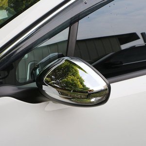 Image 3 - Jameo Auto ABS Chrome Auto Rückspiegel Schutz Deckt Rückspiegel Aufkleber für Peugeot 208 2014 2017 Zubehör