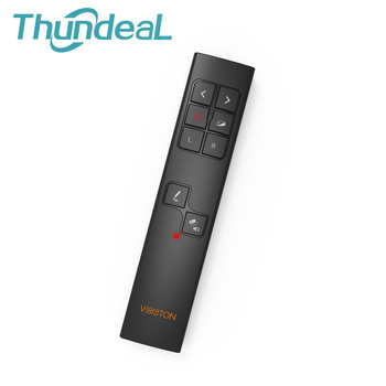 thundeal 2 4g rf wireless presenter punteros láser pluma del ratón