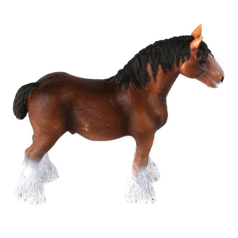 Starz Clydesdale Horse Model PVC Action Figures Animals World Collection Toys Gift for Kids-in Action & Toy Figures from Toys & Hobbies on Aliexpress.com ...