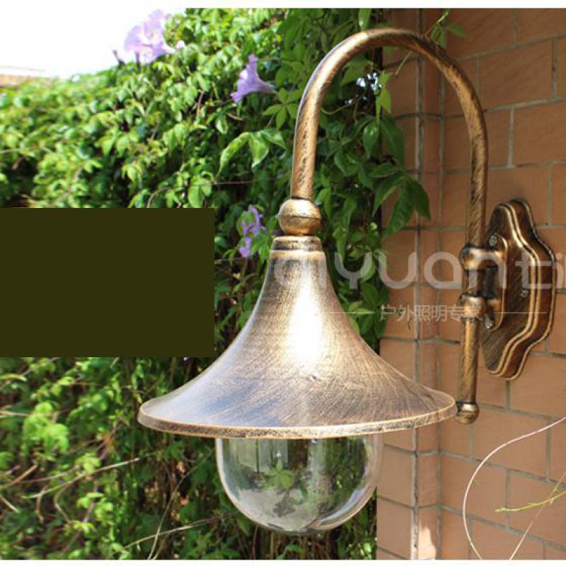 antique courtyard outdoor lighting 1 pcs retro horn waterproof outdoor wall lamp balcony garden light lamp antique courtyard outdoor lighting 1