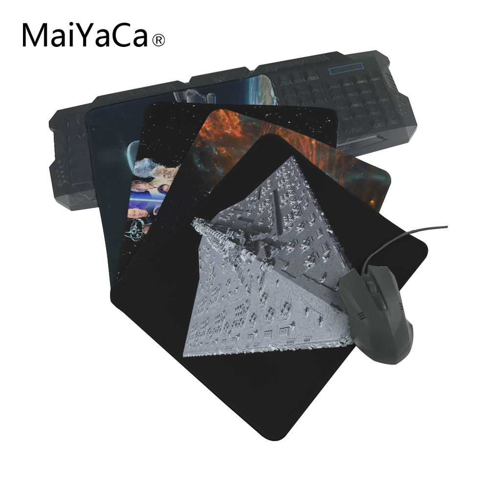 MaiYaCa The best choice for gifts Star Wars Spaceship Best Anti-Slip Laptop PC Me Pad Mat OverLock Mouse Pad