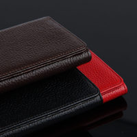 Mobile Case Cowhide For Xiaomi Redmi Note 3 Protective Cover Phone Shell Red Mi Note2 Note