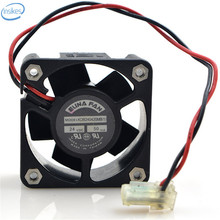 Original KDB240420MB Computer Blower Double Ball Cooling Fan DC 24V 0.05A 18.2W 4020 40*40*20mm 4200RPM 2 Wires