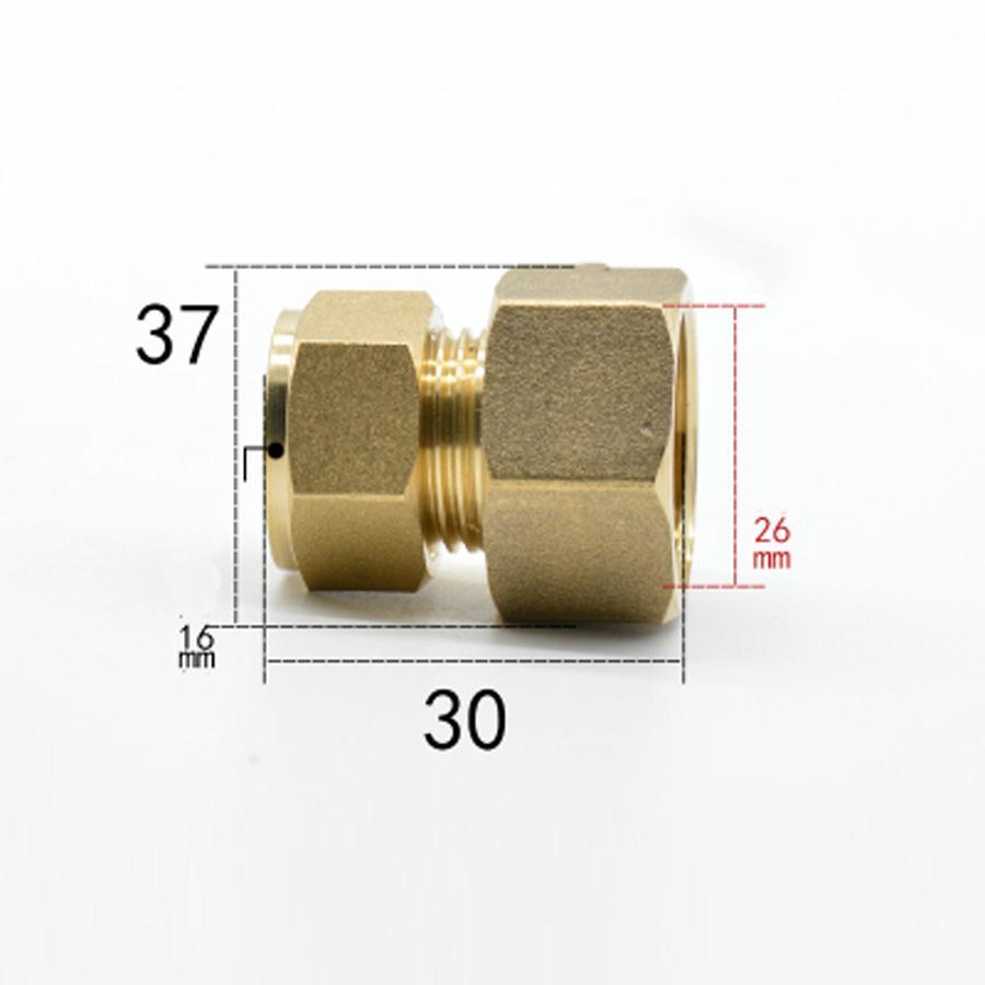 Fit Tube OD 16mm X 3/4