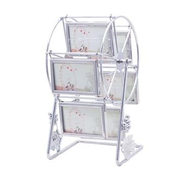3 Inch Steel Ferris Wheel Photo Frame Table Creative Windmill Photo Frame Set Decorative Product