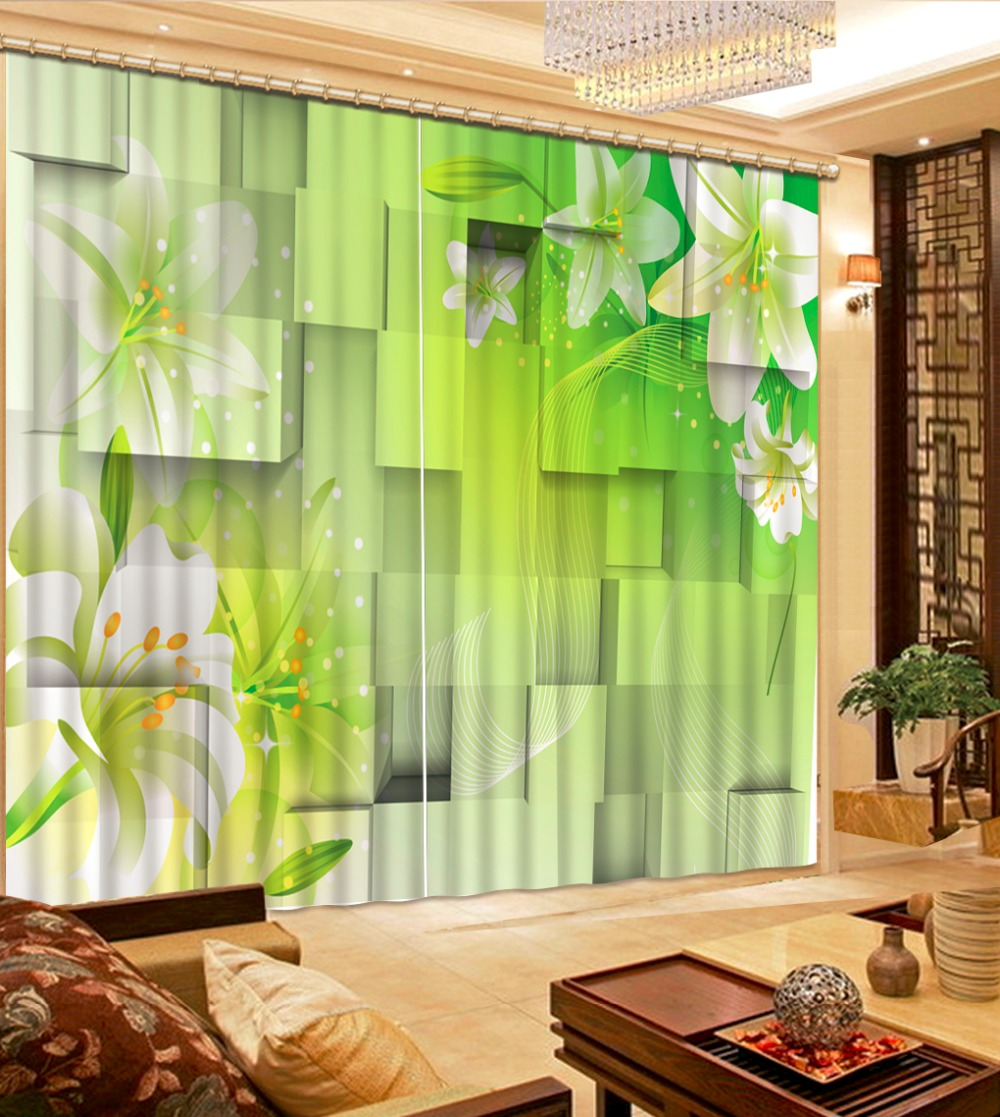 customize living room curtains Photo Simple box of flowers 3d stereoscopic pattern blackout curtainscustomize living room curtains Photo Simple box of flowers 3d stereoscopic pattern blackout curtains