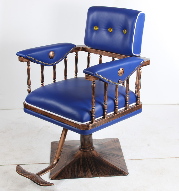 55552Hair salon chair. Japanese style chair. Shaving chair the silver chair