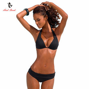 5048a02b51 Ariel Sarah Super Push Up Bikini for Women Swimwear Swimsuit Women Sexy  Biquini Bathing