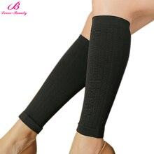 909358a9848ea3 Lover-Beauty One Pair Powerful Women Slim Leg Shaper Elastic Beam Legs  Stockings Skinny Calf