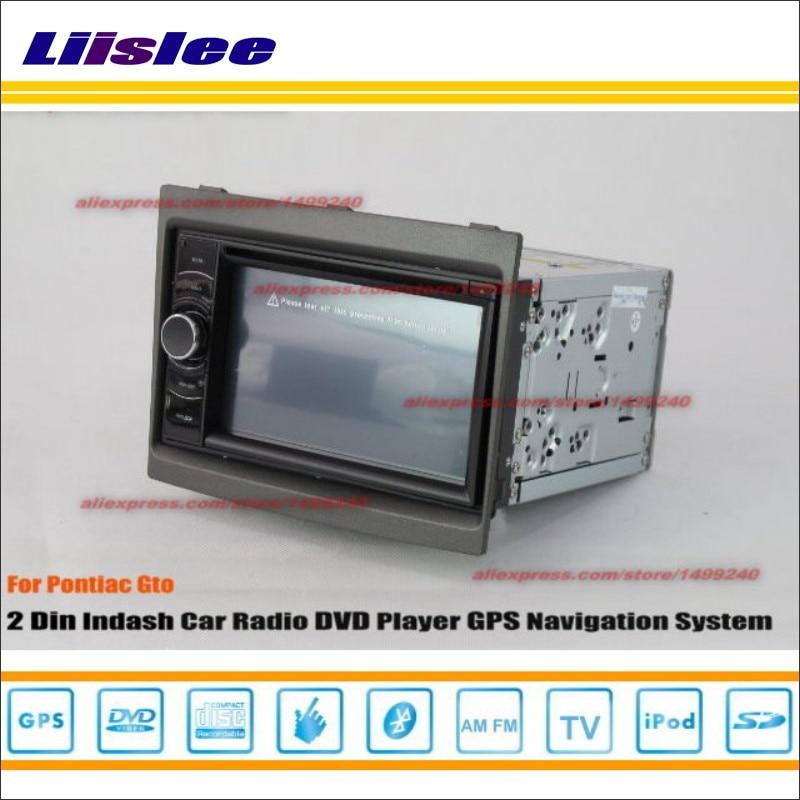 Liislee для Pontiac GTO 2004 ~ 2007 Радио стерео CD dvd-плеер GPS Navi/HD touch аудио-видео s100 nav навигации Системы