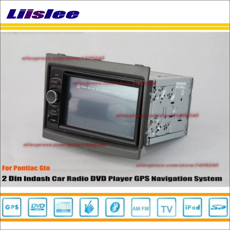 Liislee For Pontiac Gto 2004~2007 Car Radio Stereo CD DVD Player GPS NAVI / HD Touch Audio Video S100 Nav Navigation System