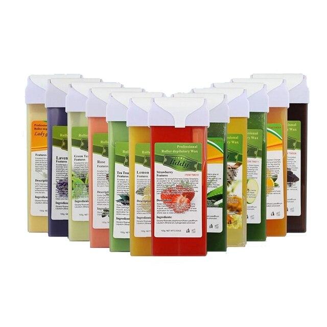 Crema di Rimozione dei capelli Uso Professionale Solubile In Acqua Zucchero Depilatoria Cartuccia di Cera Ceretta Miele di Rosa Odore
