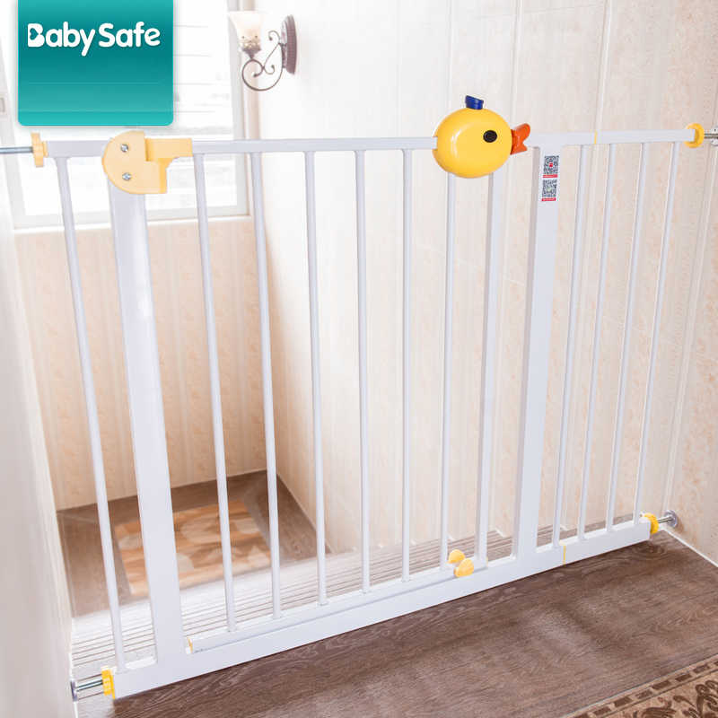 Small Yellow Baby Safety Gate Iron Gate Stair Babysafe Garden Door With Teh Extention