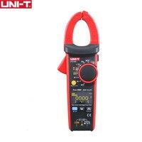 UNI T UT216D 600A цифровой токовые клещи НТС V.F.C диод ЖК дисплей подсветка OLED дисплей Аналоговый барный график работы свет