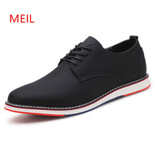 Men Shoes MEIL Brand Designer Leather Zapatos Hombre Deportiva Men Loafers Casual Calzado Hombre Mocassin Homme Driving Shoes