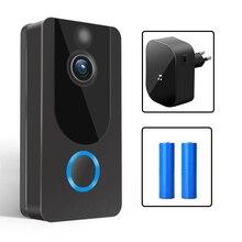 GEEKAM 1080P WiFi Video Doorbell V7 Smart IP Video Intercom Free Cloud Recording