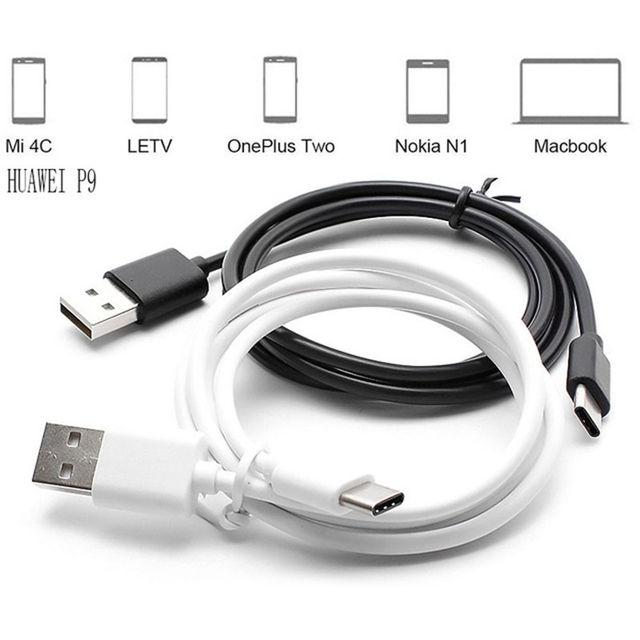 1 M/2 M/3 M Großhandel USB-C USB 3.1 Typ C Stecker Zu USB 2.0 B Typ Männlichen daten Kabel Für Handy 200 stücke