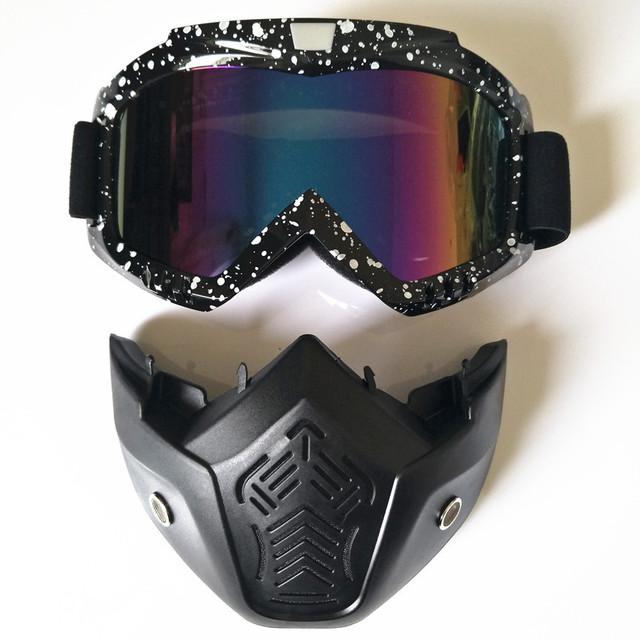Goggles Bike Glasses Face Mask Winter Sports Ski Snowboard